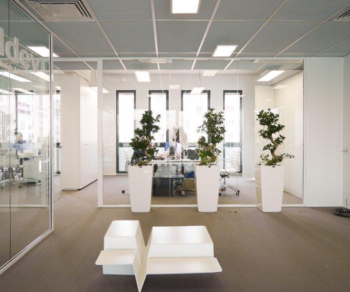 Photographies des bureaux d'ADDEV