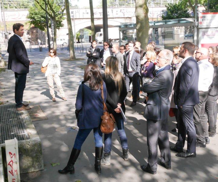 ANF Immobilier et DCB International visitent leurs programmes sur le Grand Lyon