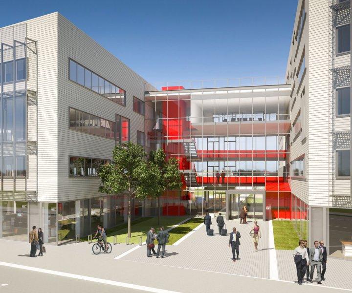 Découvrez les nouvelles perspectives du futur siège social du groupe Adecco France